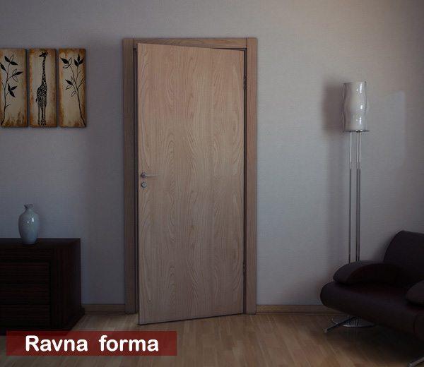 sobna vrata ravna forma
